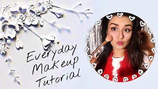EVERYDAY MAKEUP TUTORIAL| AVNEET KAUR| MAKEUP