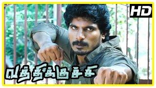 Vathikuchi Movie Action Scene | Dileepan | Sampath Raj | Jagan | Ravi Mariya | Jayaprakash