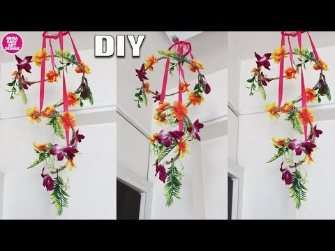 How to Make Beautifull wall hanging using waste things | west mathi best idea |2019 wall hanging