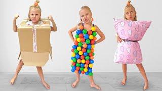 Алиса и Ева устроила соревнования с платьями