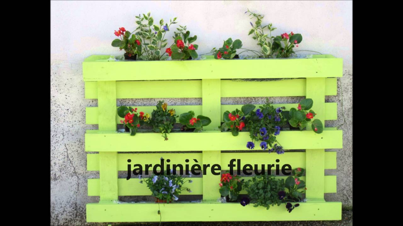 Jardini re palette youtube - Construction jardiniere palette ...