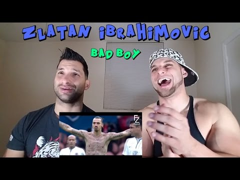 Zlatan Ibrahimovic - Bad Boy ● Crazy Moments REACTION