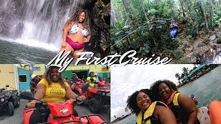 My FIRST Cruise! | Carnival Fascination Southern Caribbean Cruise Vlog