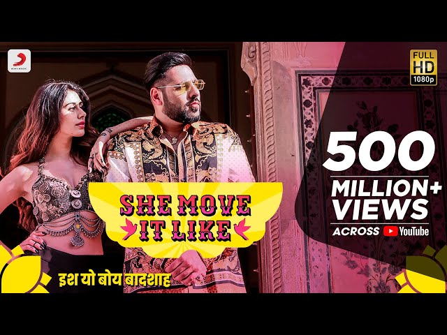 She Move It Like - Official Video | Badshah | Warina Hussain | ONE Album | Arvindr Khaira