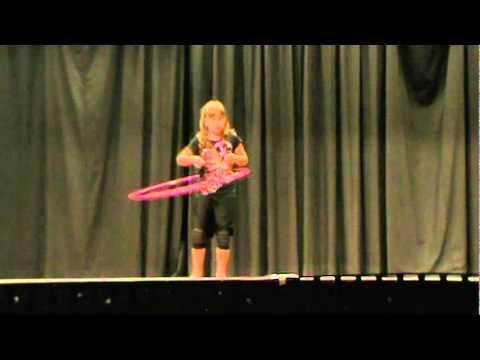 Dublin Elementary Talent Show 2011 Hula Hoop.mpg