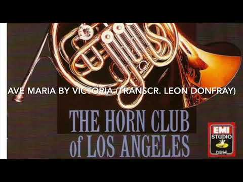 Track 20 From Horns! Ave Maria By Victoria (transcr. Leon Donfray