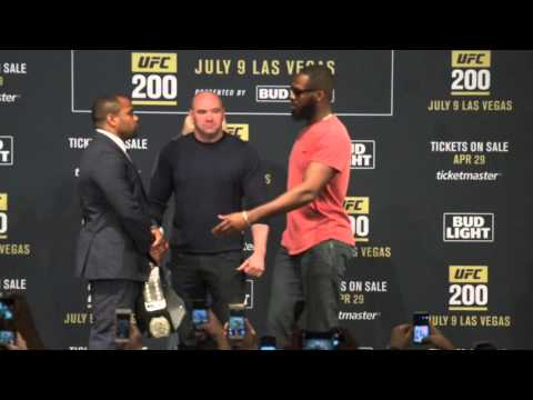 UFC 200 media face-offs at Madison Square Garden