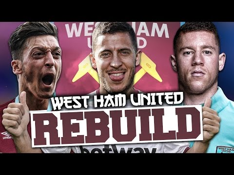 REBUILDING WEST HAM UNITED!!! FIFA 17 Career Mode