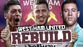 rebuilding west ham united fifa 17 career mode