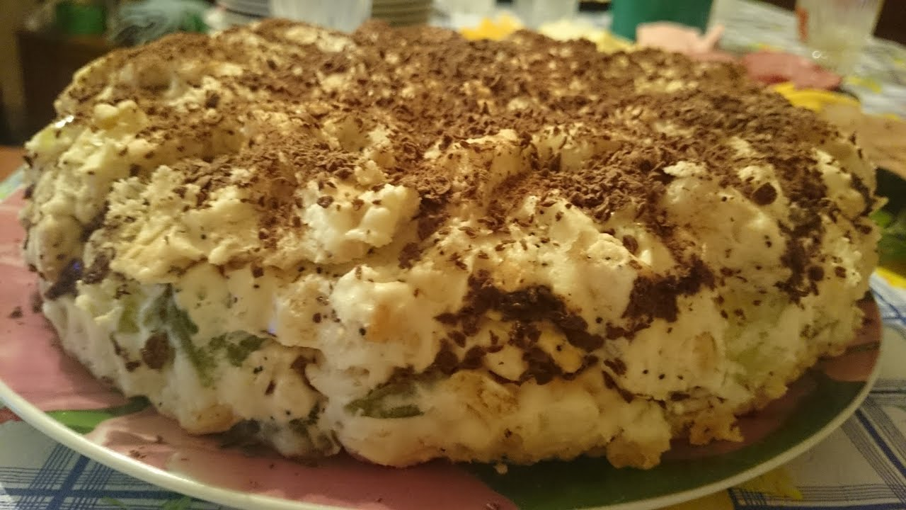 Рецепт торта муравейника с печеньем крекером