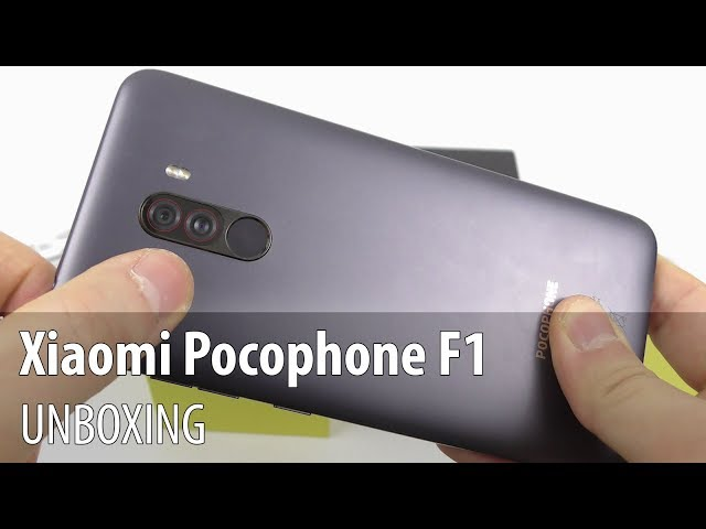 Xiaomi Pocophone F1 Unboxing (Affordable Snapdragon 845 Phone)