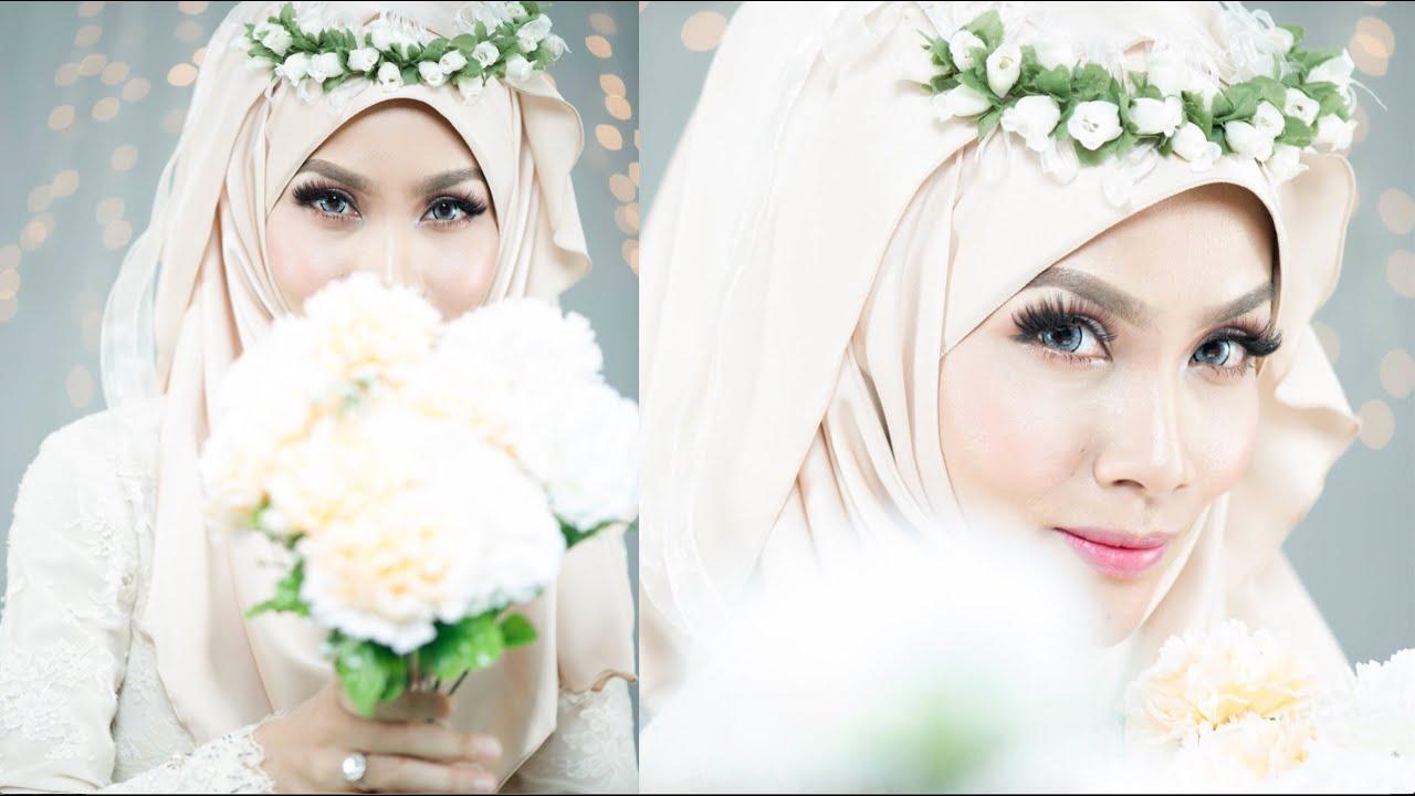 Wedding Makeup Tutorial_ Elegant Garden Inspired - YouTube