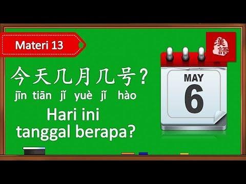 Belajar Dialog Tanggal Dan Bulan Dalam Bahasa Mandarin