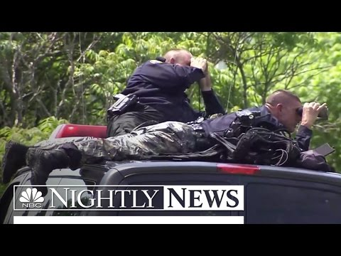 Prison Break: Police Swarm Small New York Town | NBC Nightly News