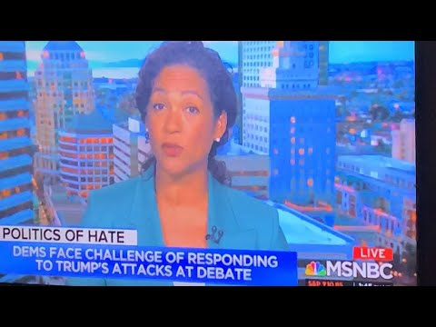 """Oakland's Aimee Allison Of """"She The People"""" On MSNBC On Trump Racism"""
