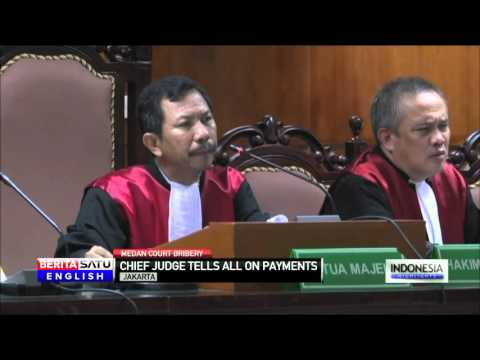 Medan Chief Judge Tells All on Bribery at State Court