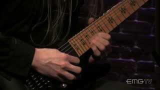 """Jeff Loomis shreds """"Mercurial"""" live on EMGtv"""