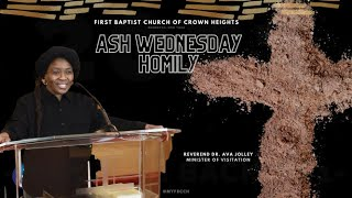 Ash Wednesday Homily