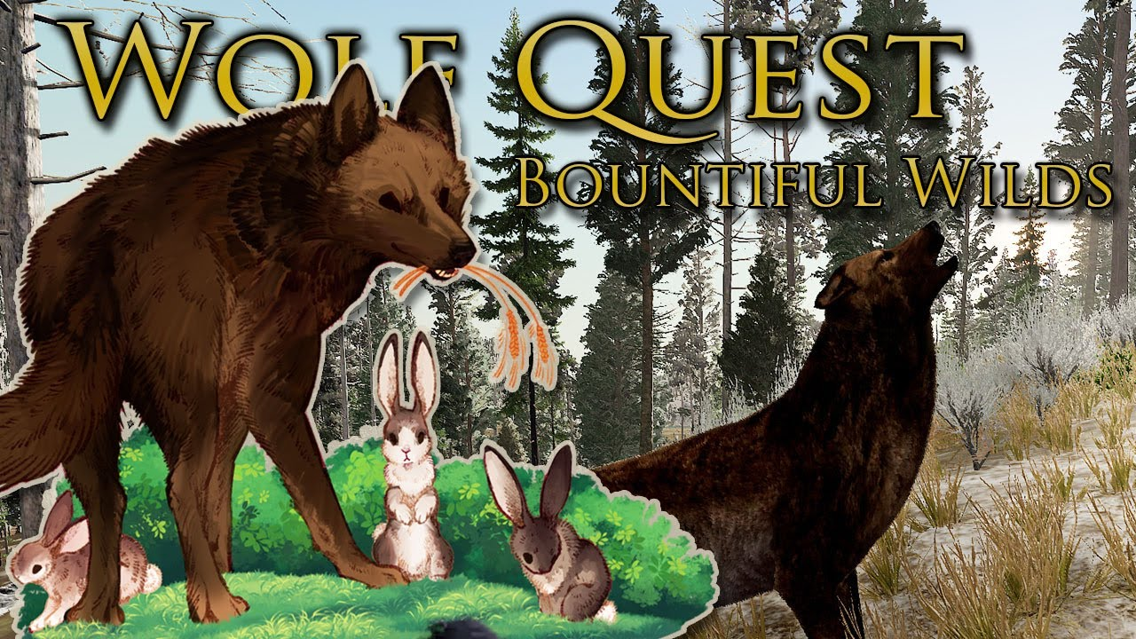 Download Stealing the HUNT from Stranger Wolves!! 🐺 Wolf Quest: Bountiful Wilds • #3
