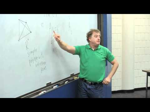 Tovey explains the column geometry of the simplex method
