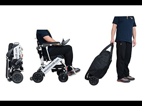 Wheelchair Foldable Ex Hire Chair Covers For Sale | Foldawheel Pw-999ul With Travel Bag Review - Youtube