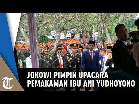 Sambutan Presiden Joko Widodo saat Memimpin Upacara Pemakaman Ibu Ani Yudhoyono