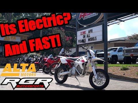 2018 Alta Redshift SM | Electric Supermoto