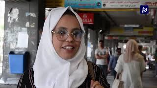حركة نشطة للدمشقيين على أسواق الملابس والحلويات استعداداً لعيد الفطر (4-6-2019)