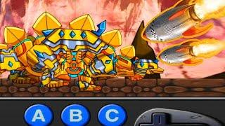 Golden Dino - Dino Robot Transform General Mobilization Gameplay