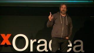 Don't let consumer culture consume your dreams | Dan Perjovschi | TEDxOradea
