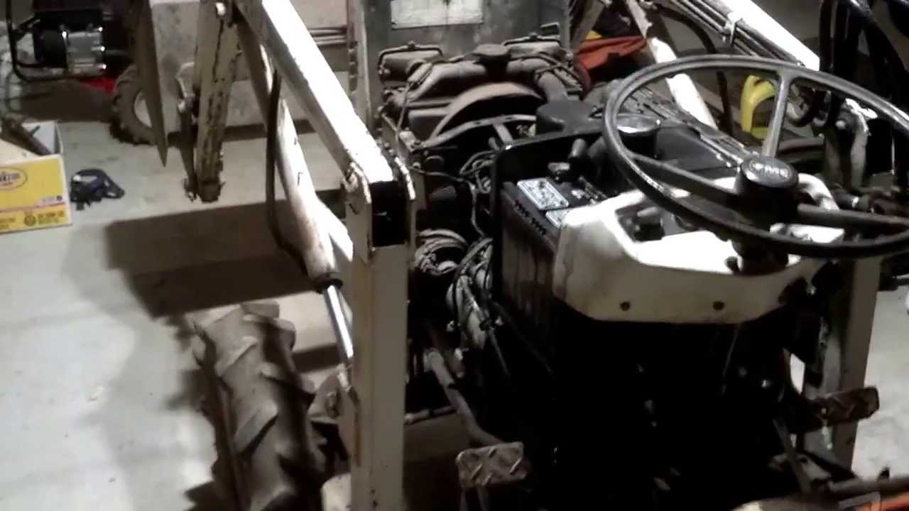 1978 Bolens Iseki G174 4x4 Diesel Tractor First Start