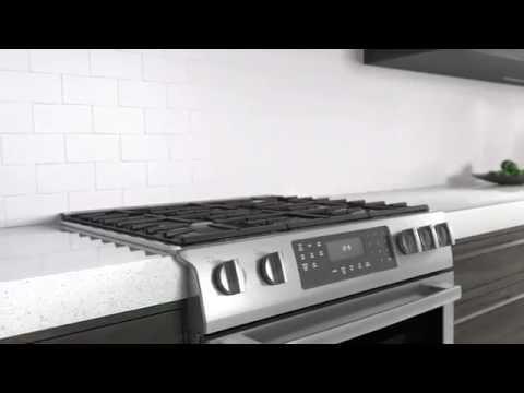 Kitchen Remodeling Bosch Slide In Range Youtube