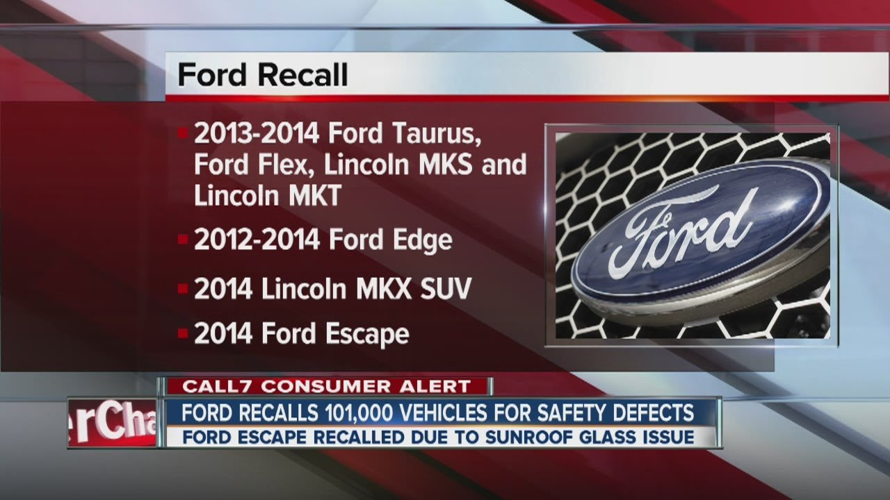 Ford recalls 10,10 vehicles for safety issues | ford recalls