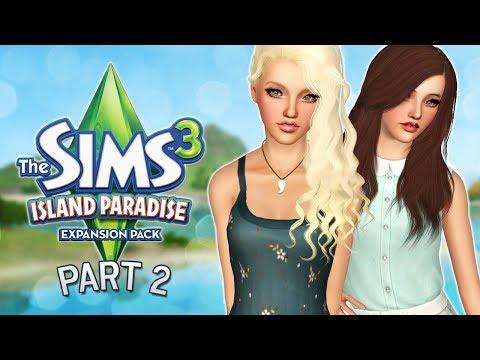 Let's Play The Sims 3: Island Paradise | Part 2 - Beach Babe