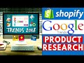 Shopify Google Trends Product Research [Dropshipping]