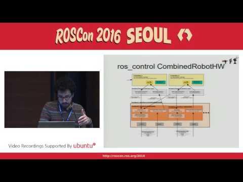 ROSCon 2016 Seoul Day 2 Lightning Talk   ros control