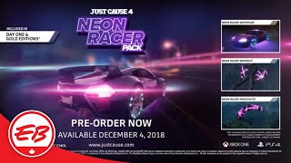Just Cause 4: The Neon Racer Pre-order Pack Trailer - Square Enix | EB Games