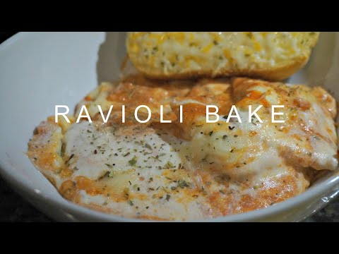 Ravioli Bake