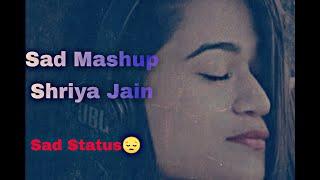 Shriya Jain Sad Mashup Status #shorts
