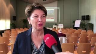 Viola Amherd zum Vollausbau des Lötschbergbasistunnels