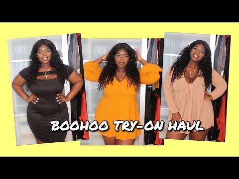 BOOHOO PLUS SIZE TRY ON HAUL 2020: Boohoo Plus Size Dress Haul - BIRTHDAY DRESSES 2020 -BOOHOO CURVE