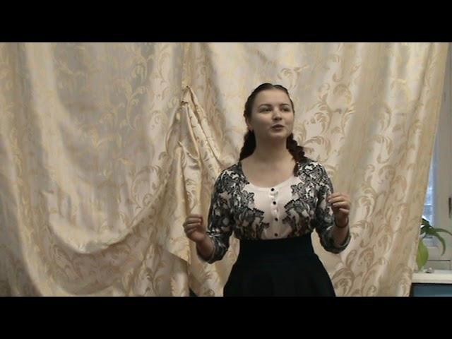 Изображение предпросмотра прочтения – ОксанаГолубева читает произведение «Мне нравится, что Вы больны не мной...» М.И.Цветаевой