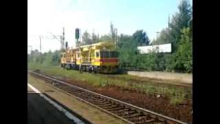 pkp energetyka s a pociąg sieciowy ps 00 m rp4 na stacji częstochowa stradom