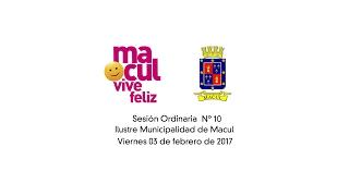 Concejo Municipal de Macul 03-02-2017