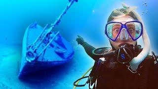 Our Terrifying SHIPWRECK Experience | (ran out of air)