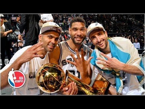 Manu Ginobili memories: Tim Duncan, Tony Parker and David Robinson share Manu's impact | NBA on ESPN