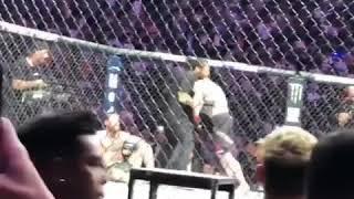 UFC 229 KHABIB WINS THEN GOES CRAZY