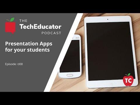 Google Slides, Power Point, Keynote, Prezi and Haiku Deck | TechEducator Podcast 68