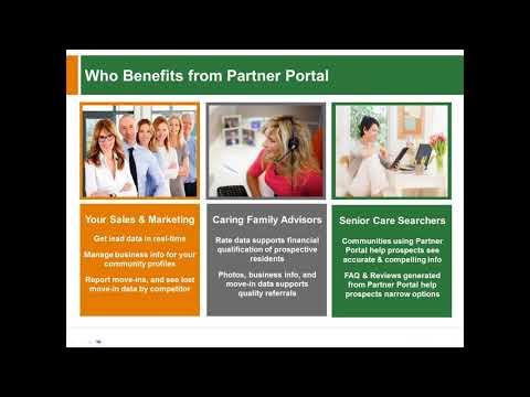 Improve Senior Living Sales with Partner Portal