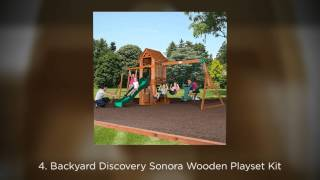 Top 5 Wooden Swing Set Kits 2014 - This Year's Best Picks